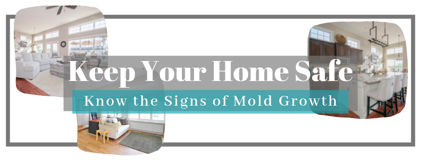know the signs of mold growth