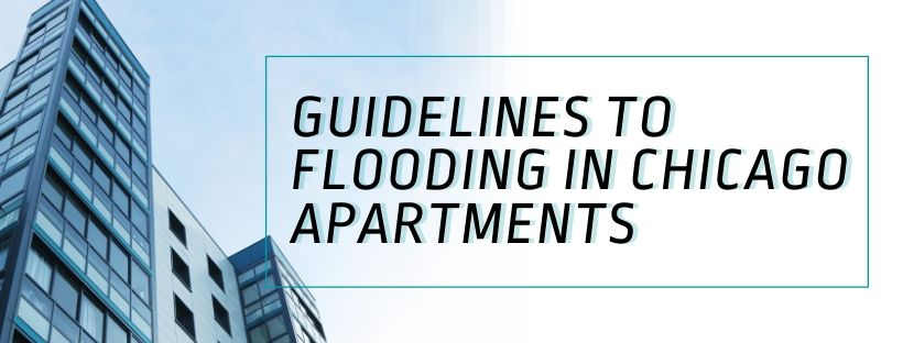who pays rent when an apartment floods